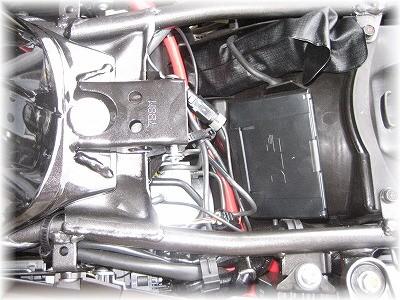 ETC車載器本体位置